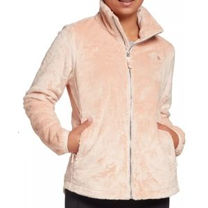 NWT The North Face Plus Size Osito Full Zip Morning Pink Jacket size 3X